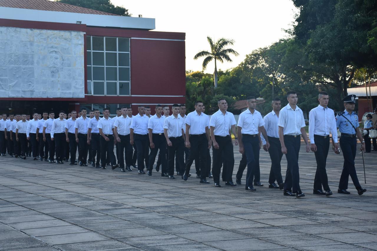 Nuevos Aspirantes a Cadete se presentaron en la Academia Nacional de Policía