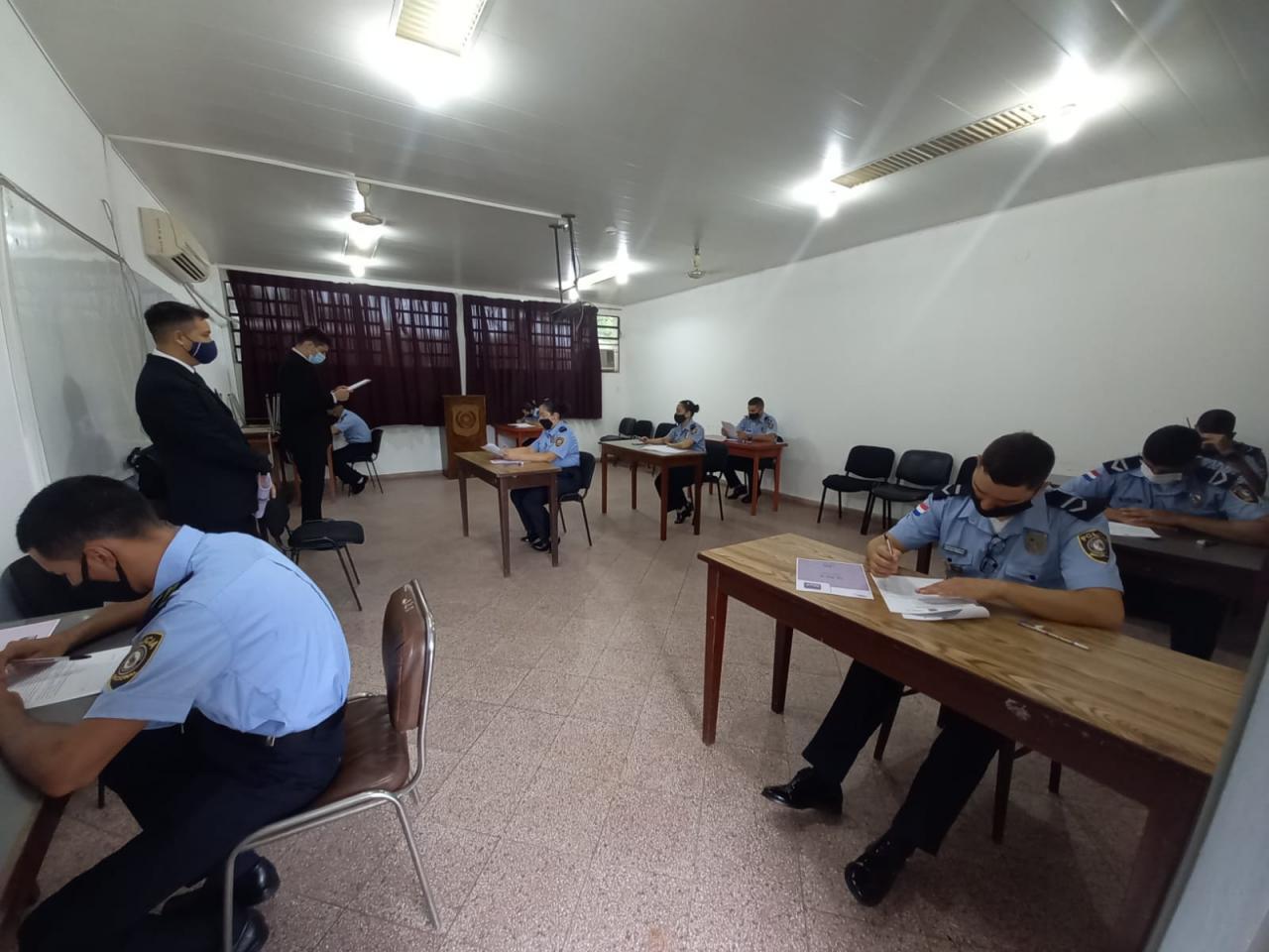 Instituto de Criminalistica inició exámenes de admisión