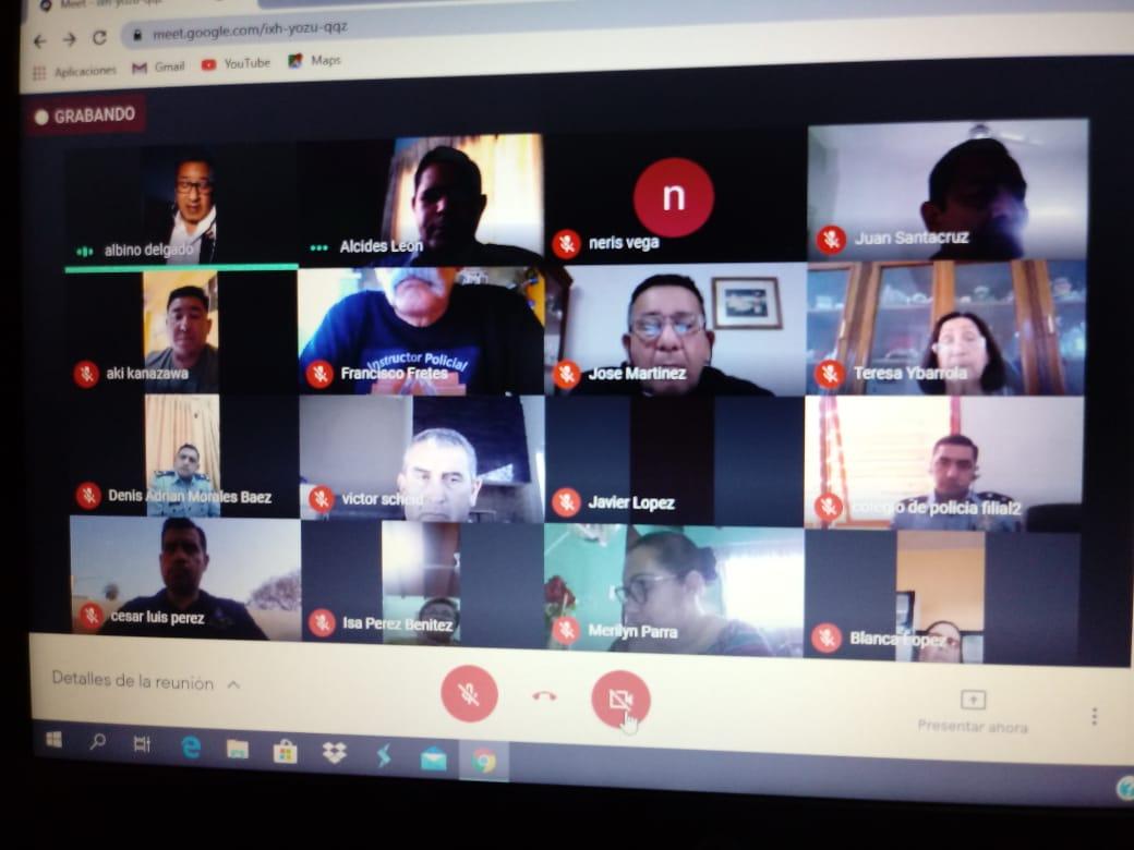 Docentes del ISEPOL se capacitaron en el uso y diseño de herramientas de gestión educativa virtual