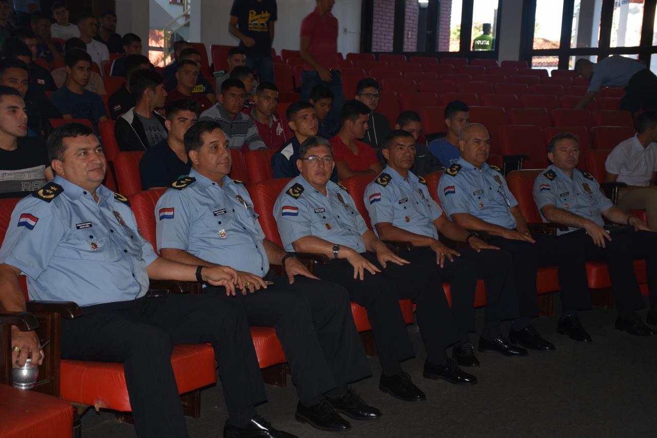 Dieron lectura de ingresantes a la Academia Nacional de Policía