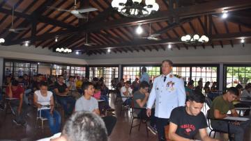 ADMISIÓN 2020: Iniciaron exámenes intelectuales a postulantes de los institutos de formación policial