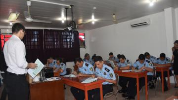 Iniciaron exámenes de admisión para la carrera de Criminalística