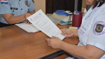 Continúa recepción de documentos de Oficiales...