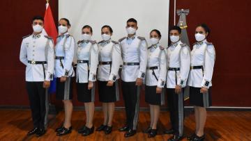Cadetes fueron promovidos al grado de Subrigadier