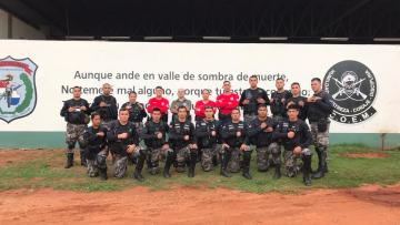 Instructores del ISEPOL impartieron curso de técnicas y tácticas policiales, a Linces