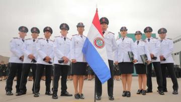 Egresan los primeros 10 Suboficiales paraguayos...