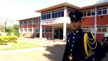 Cadete oriundo de Concepción se destaca como estudiante ejemplar de la Academia Nacional de Policía