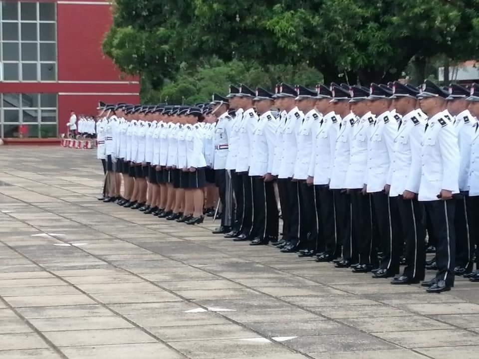 Egresan 102 nuevos Oficiales Ayudantes de la Academia Nacional de Policía