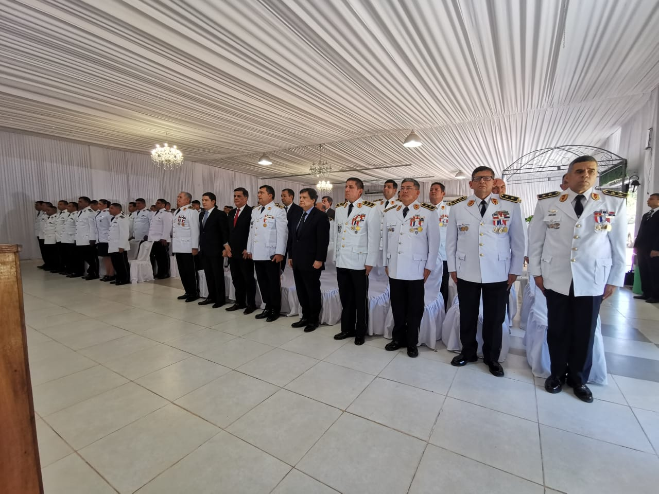 Egreso de curso de capacitación para Suboficiales, en distintas filiales